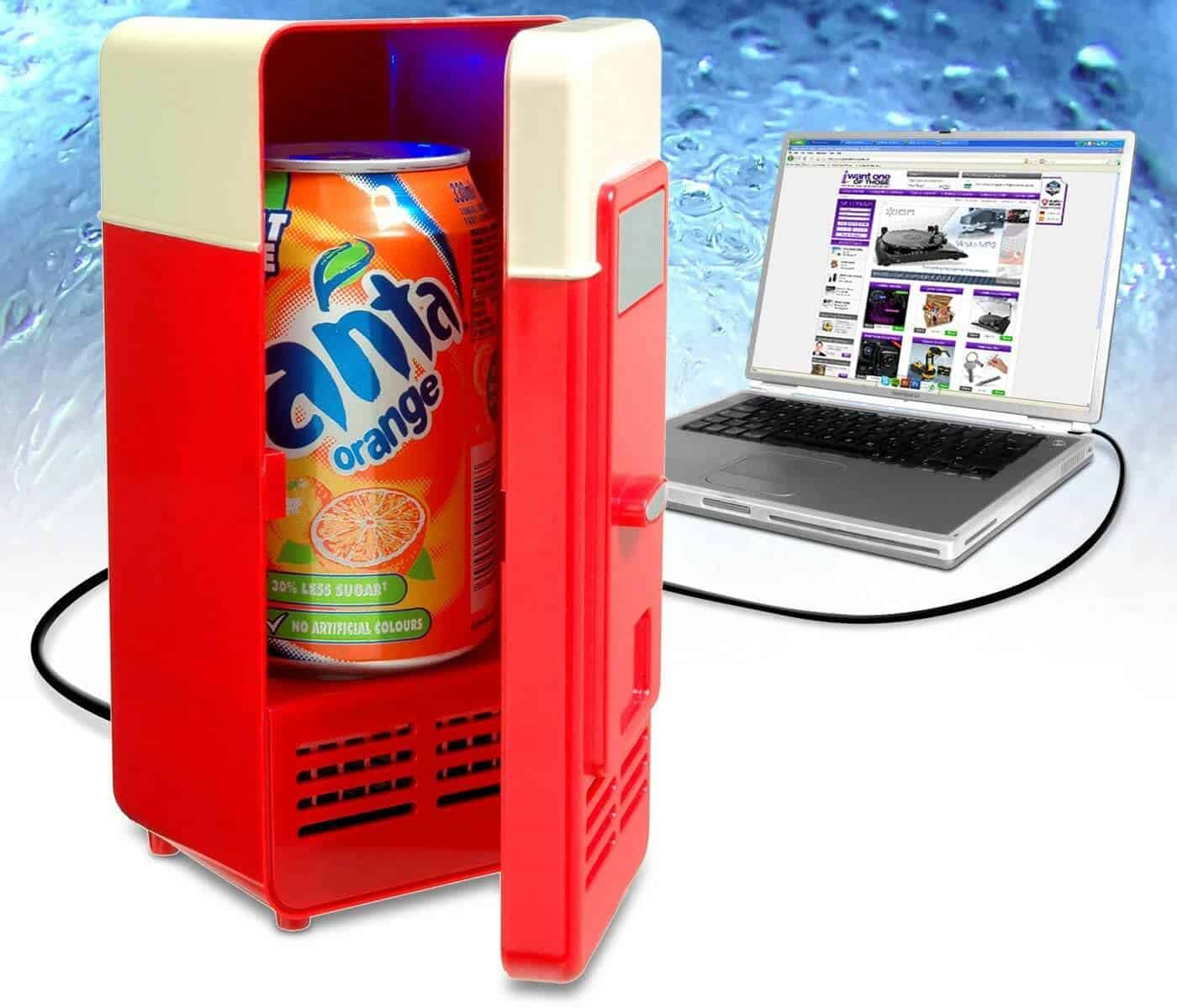 USB mini fridge/ Refrigerator Review